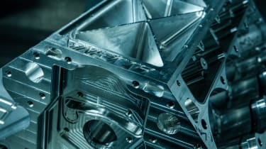 GINETTA unnamed supercar - engine