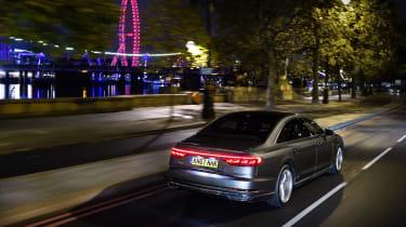Audi A8 – rear quarter