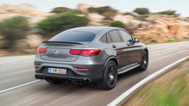 2019 Mercedes-AMG GLC 43 coupe rear