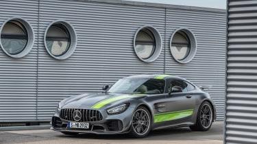 Mercedes-AMG GT R Pro review - front quarter