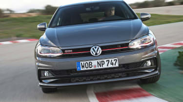 Volkswagen Polo GTI - front tracking