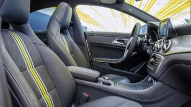 2013 Mercedes-Benz CLA250 interior front seats