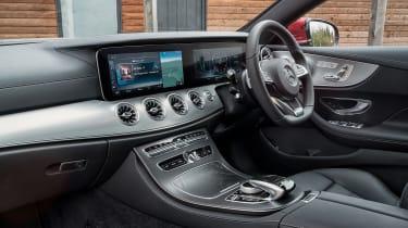 Mercedes-Benz E-class coupe interior