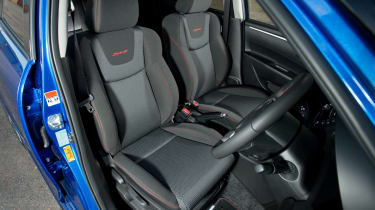 Suzuki Swift Sport front seats