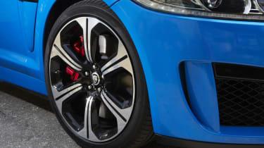 Jaguar XFR-S alloy wheel rim