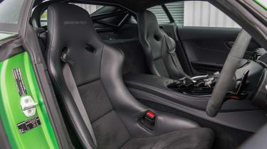 Road-legal supercars – Mercedes-AMG GT R interior