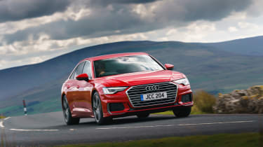 Audi A6 Saloon S-Line - front quarter