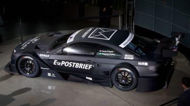 BMW M3 DTM racing car