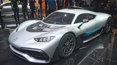 Mercedes-AMG Project 1 live - profile