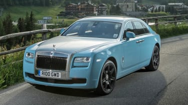 2014 Rolls-Royce Ghost Alpine Trial Centenary Collection front black grille