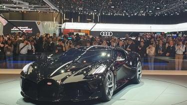 Bugatti La Voiture Noire at Geneva 2019 front