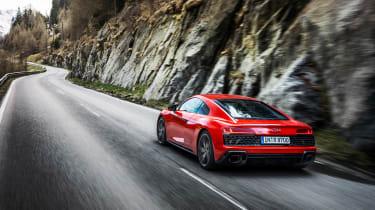Audi R8 V10 Performance RWD – rear tracking