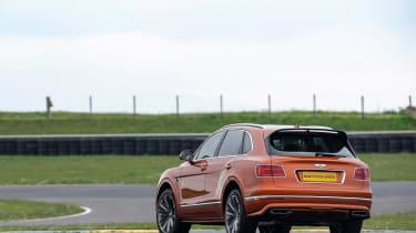 Bentley Bentayga Speed - rear