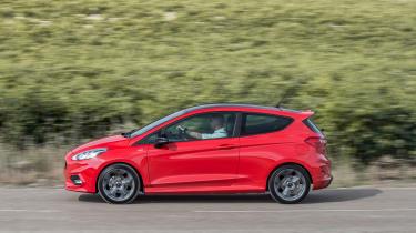 Ford Fiesta ST-Line - profile