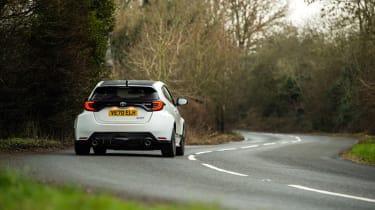 Litchfield Toyota GR Yaris – rear cornering