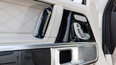 Mercedes-AMG G63 – seat controls