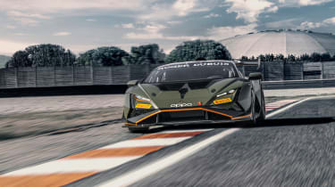 Lamborghini Huracán Super Trofeo Evo 2 – front