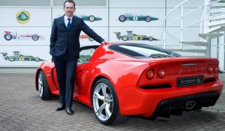 Lotus Exige S new CEO