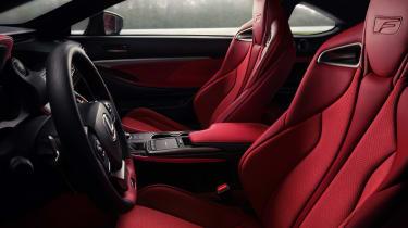 Lexus RC F Track Edition - seats