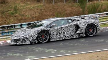 Lamborghini Aventador SV Jota - side