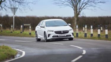 Vauxhall Insignia GSi – cornering