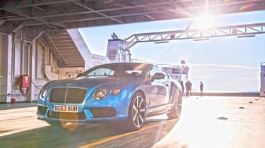 Bentley Continental GT V8 S - ferry static