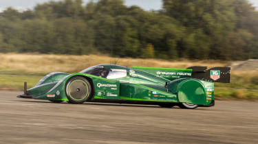Drayson's electric speed record uses Michelin Le Mans tyres