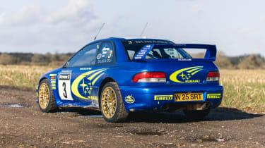 Subaru Impreza S6 WRC – rear quarter static
