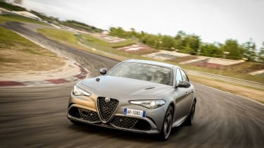 Alfa Romeo NRING Giulia - front