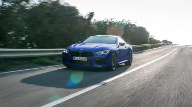 BMW M8 Competition - front quarter