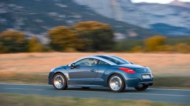 Peugeot RCZ 1.6 THP 200 sports coupe review