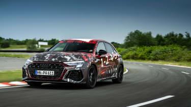 Audi RS3 mule 2020 SB – front2