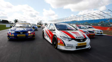 2012 British Touring Car Championship grid