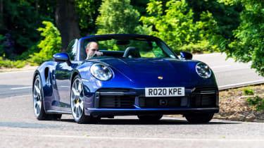Porsche 911 Turbo S Cabriolet – header