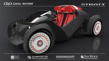 Local Motors 3D-printed sports car