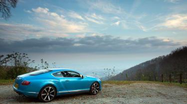 Bentley Continental GT V8 S - rear static