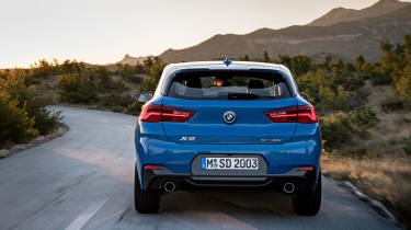 BMW X2 – Rear