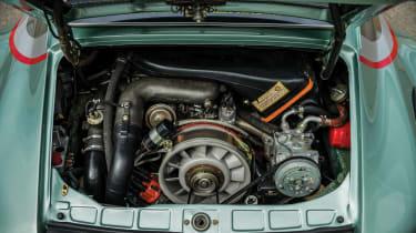 Porsche 935 Turbo engine