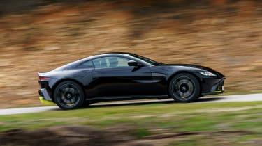 Aston Martin Vantage - black moving