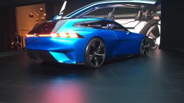 Peugeot Instinct Concept Geneva rear three quarter