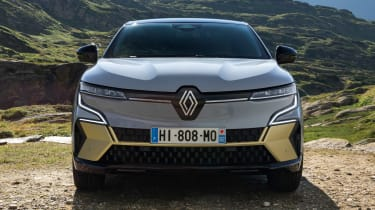 Renault Megane E-Tech Electric - nose