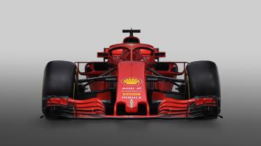 Ferrari F! 2018 car - front