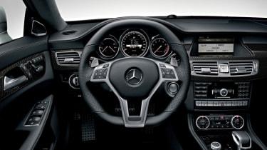 Mercedes CLS 63 AMG cabin