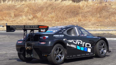 Toyota GT86 tackes Pikes Peak Monster Super 86 rear