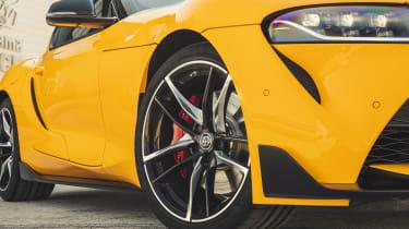 Toyota Supra front detail
