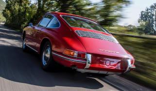Porsche 911 barn - rear quarter