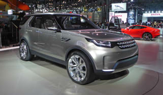 Land Rover Discovery Vision concept New York show front