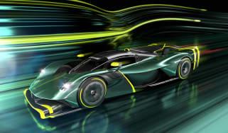 Aston Martin Valkyrie AMR Pro – front quarter
