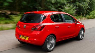 New Vauxhall Corsa five door