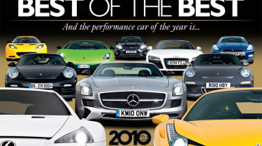 evo Car of the Year 2010 issue